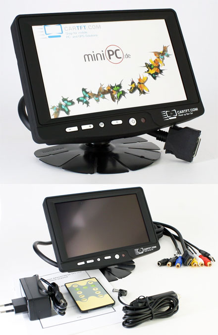 "CTFHD700 - HDMI 7"" TFT - Touchscreen USB - Video - Autodimmer  - Audio <b>(500 nits) [LED]</b>"