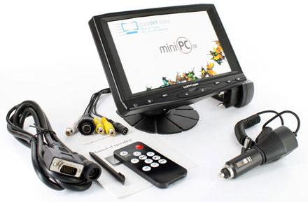 """CVL700B - HDMI/VGA 7"""" TFT - Touchscreen USB - PAL/NTSC -  IR - Audio <b>[LED-Backlight]</b>"""