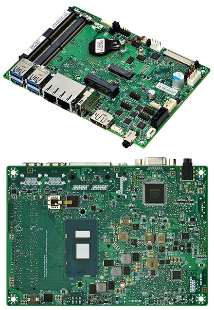 Mitac PD11KS 3.5-SBC (Intel Kaby Lake, i5-7300U, VGA+dP)